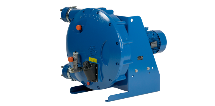 PCM Delasco™ peristaltic pump – DL Series – for oil & gas surface transfer
