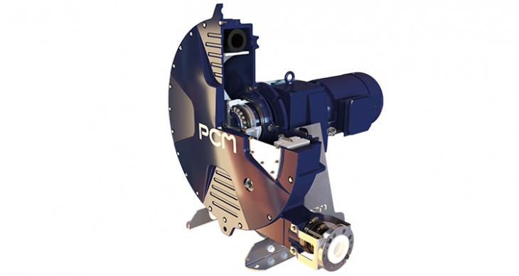 Pompe péristaltique PCM Série DX - vue ouverte